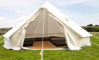 Deluxe 4 metre Bell Tent (Tokonatsu 3rd - 6th Aug) & Featured Products