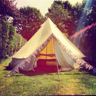 & Deluxe 4m Bell Tent (Dom and Laurau0027s wedding 1st July)